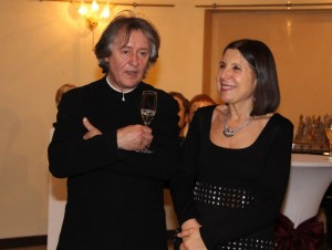Maria Prinz and Stephen Barlow